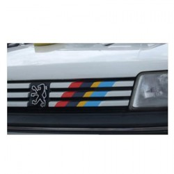 Peugeot Rally striping grille