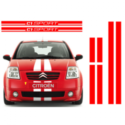 Citroen C1 SPORT striping