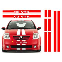Citroen C2 VTS striping
