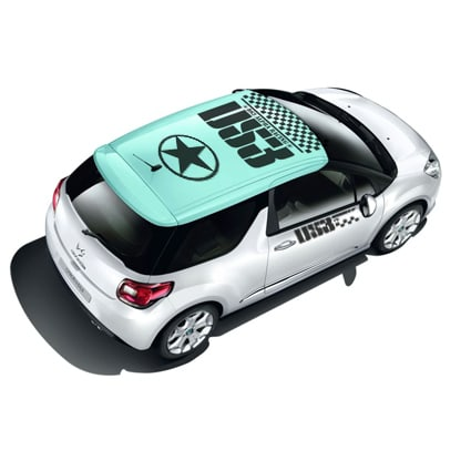 Citroen DS3 sticker set Citroen stickers