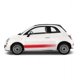 Fiat Abarth striping 5