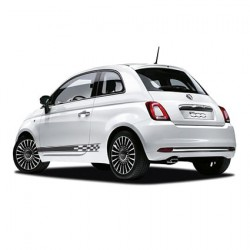 Fiat checkered striping 2