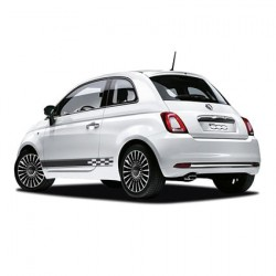 Fiat checkered striping 3