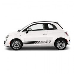 Fiat checkered striping 4