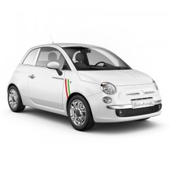 Tri colore limited striping passend op Fiat