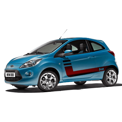 Ford Ka striping 5 (2009) Ford stickers