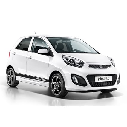 Goede Kia Picanto striping 1 - Stickythings.nl PU-57