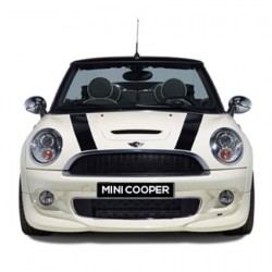 Mini Cooper Bonnet stripes 1