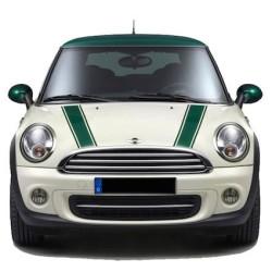 Mini Cooper Bonnet stripes 3