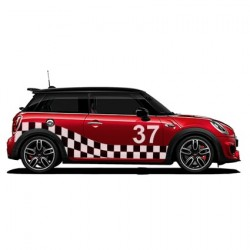 Mini Cooper Race striping 3