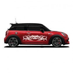 Mini Cooper Tribal striping