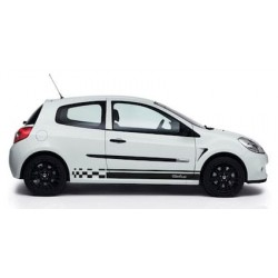Renault Clio Cup striping
