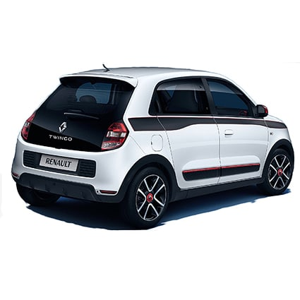 Renault Twingo 2014 striping Renault stickers
