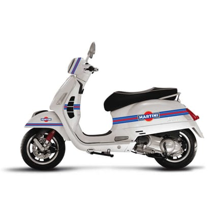 Martini striping scooter Scooter stickers