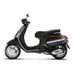 Nederlandse vlag striping scooter