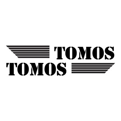 Tomos logo stickers 3 Scooter stickers