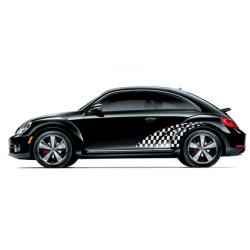 Beetle checkered striping 2