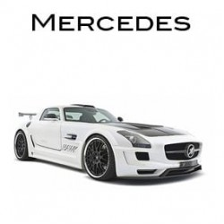 Mercedes stickers - Stickers per automerk