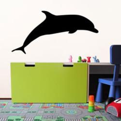 Dolfijn krijtsticker