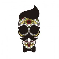 Sugar skull sticker 17