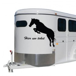 Paarden trailer stickers 1