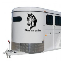 Paarden trailer stickers 12