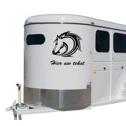 Paarden trailer stickers 7