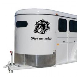 Paarden trailer stickers 8