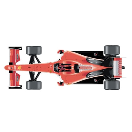 ferrari formule 1 sticker 2. Black Bedroom Furniture Sets. Home Design Ideas