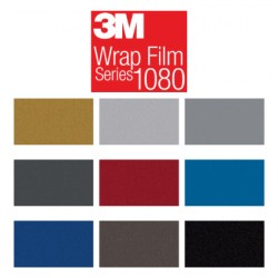 3M 1080 Metallic Wrap folie