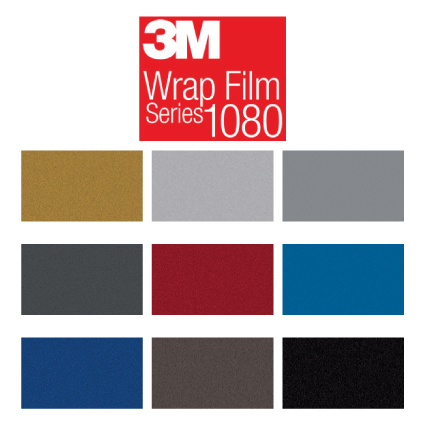 3M 1080 Metallic Wrap folie Metallic wrap folies